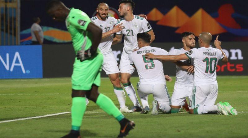 الجزائر ضد كينيا