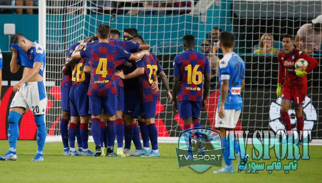 برشلونة ضد نابولي