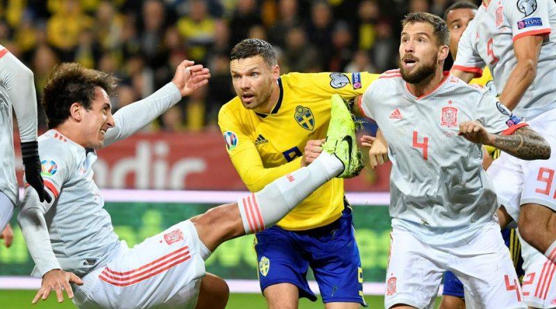تعادل-متأخر-يهدي-إسبانيا-التأهل-من-السويد