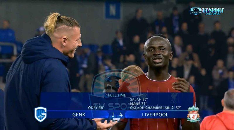 ليفربول يستعرض ويهزم جينك برباعية