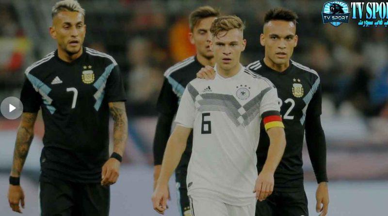 مشاهدة ملخص و أهداف مباراة ألمانيا والأرجنتين - مباراة ودية