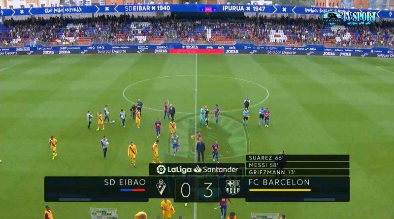 ملخص مباراة برشلونة ضد إيبارا