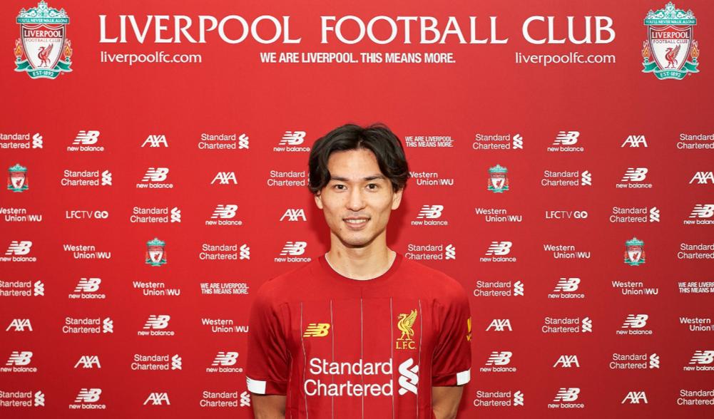 ليفربول يتعاقد رسمياً مع الياباني تاكومي مينامينو