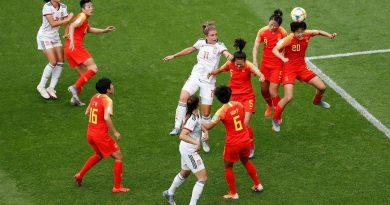 ألمانيا تتأهل متصدرة وعبور صعب لإسبانيا والصين