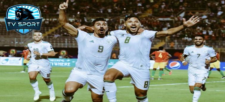 لجزائر ضد غينيا