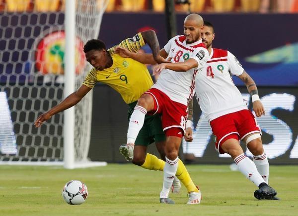 المغرب تفوز على جنوب افريقيا بهدف بوصوفة