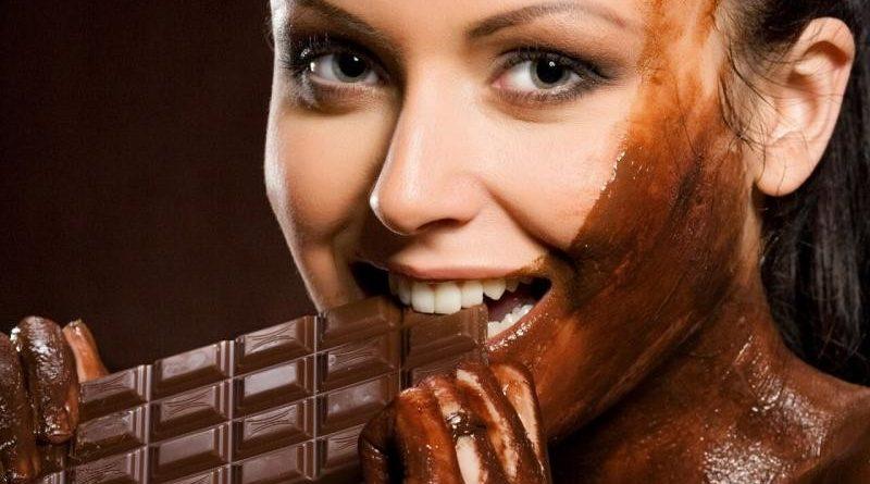أقنعة الشوكولاته للشعر