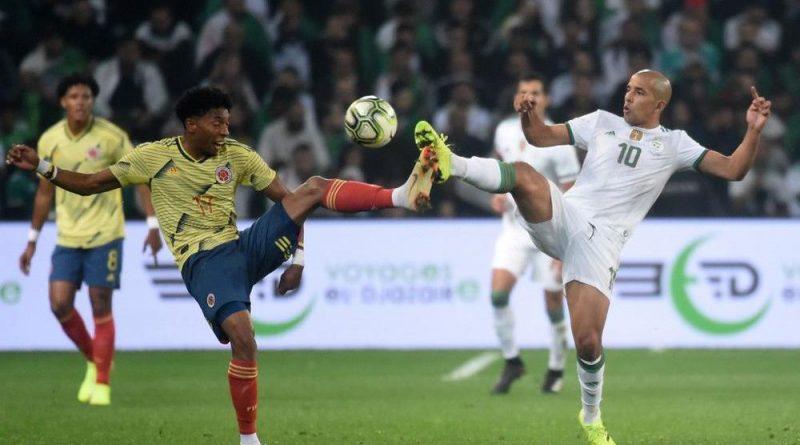 الجزائر تهزم كولومبيا ودياً