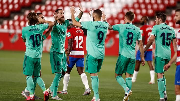 ريال مدريد و غرناطة
