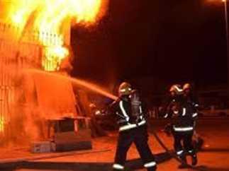 حريق بمدينة نصر